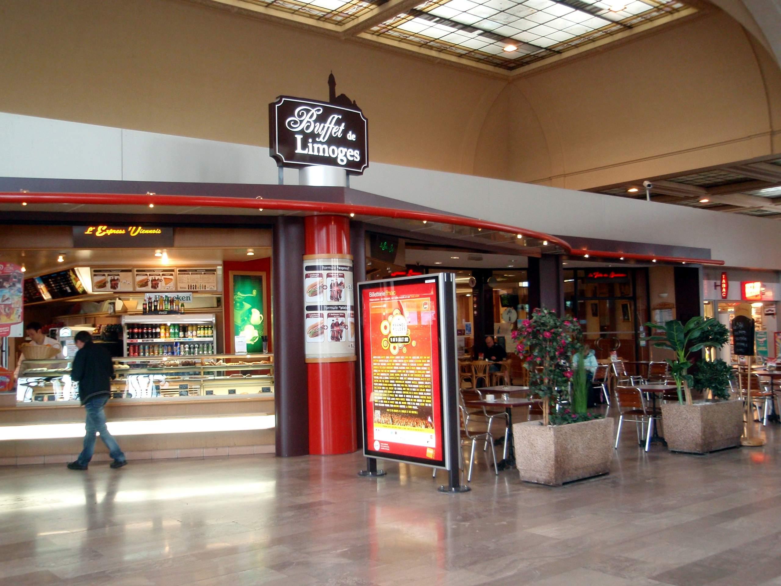Buffet de la gare limoges - Restaurant ma maison limoges ...
